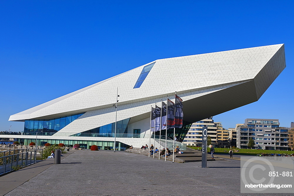 Eye Film Museum in Amsterdam Noord (North), Netherlands.