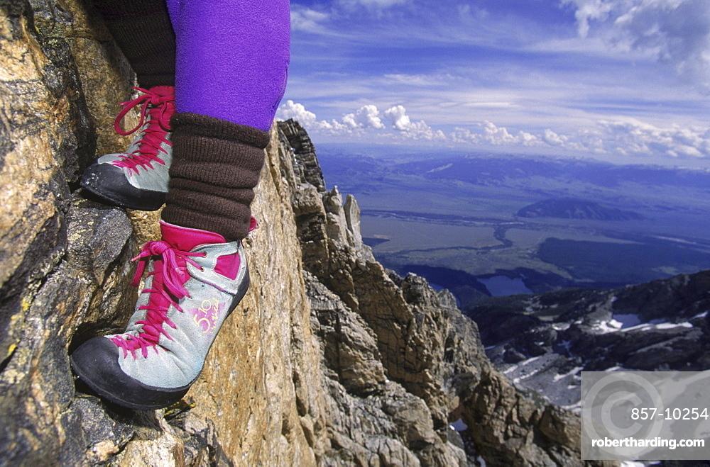 Climbing Ranger in Grand Teton National Park.