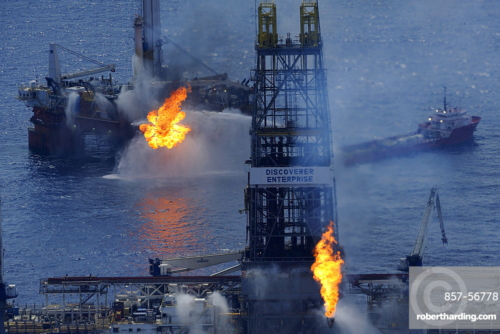 """At """"The Source"""": The site of the BP Deepwater Horizon oil drilling catastrophe"""