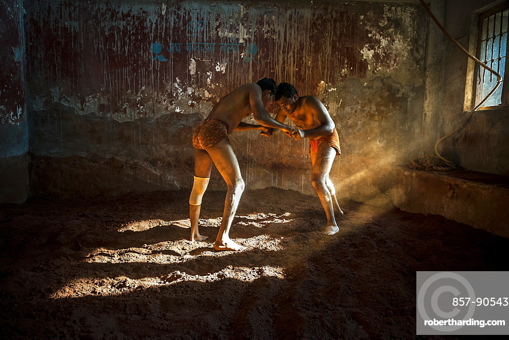 Kushti is a traditional form of South Asian wrestling popular in India, also known as Pehlwani. Wrestlers usually meet in an Akhara, a