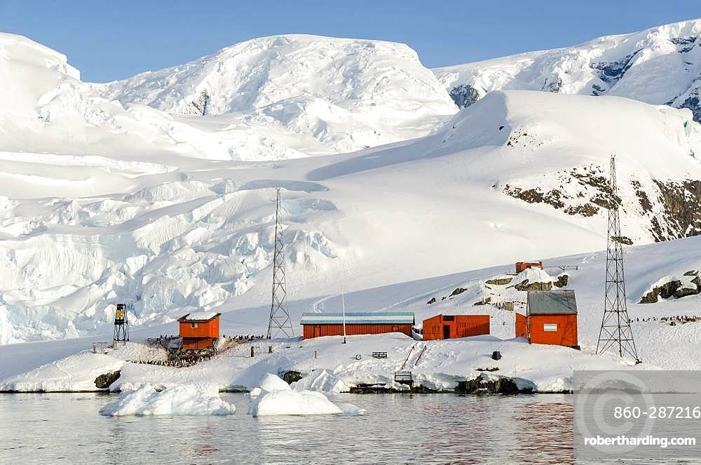 Almirante Brown Argentina, Antarctic Peninsula, Antarctica