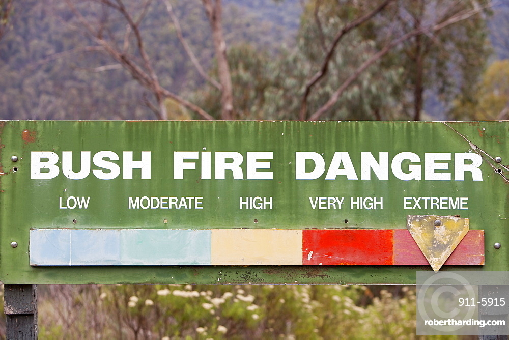 Extreme fire conditions in the Snowy Mountains, New South Wales, Australia, Pacific