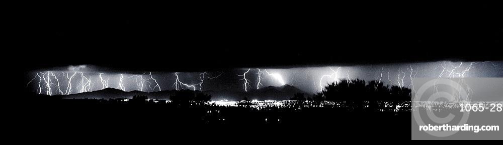 Darkness Symphony, Lightning; Storm, Cubasco; Tucson; Arizona