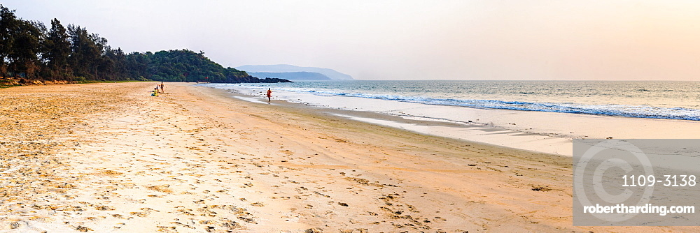 Talpona Beach sunset, South Goa, India, Asia