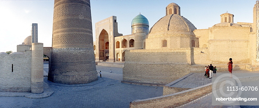 Square and Mosque, Madrassah, Bukhara, Uzbekistan