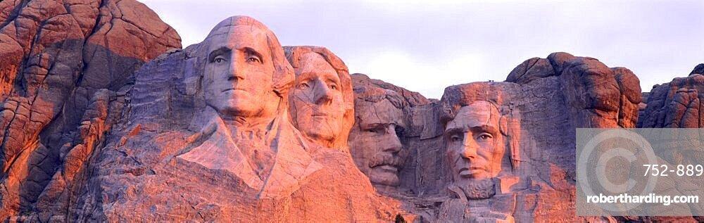 USA, South Dakota, Mount Rushmore