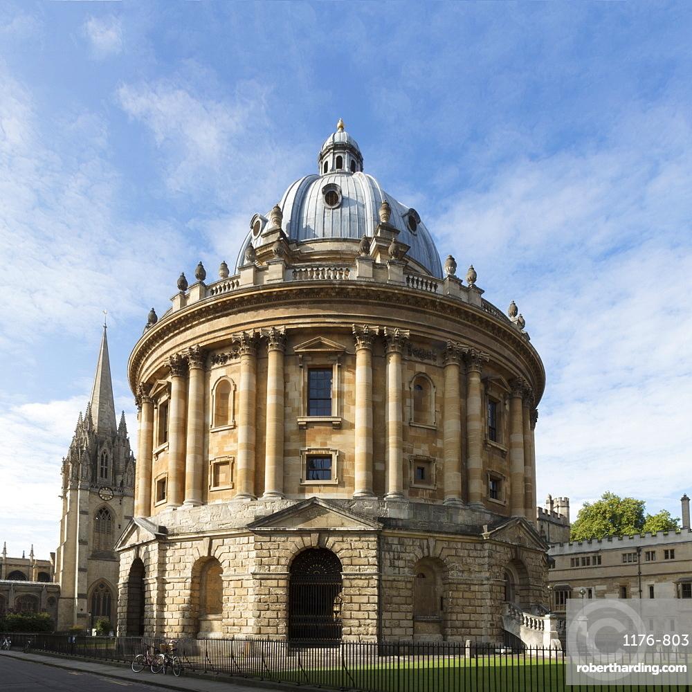 The Radcliffe Camera by James Gibbs, Oxford University, Oxford, Oxfordshire, England, United Kingdom, Europe