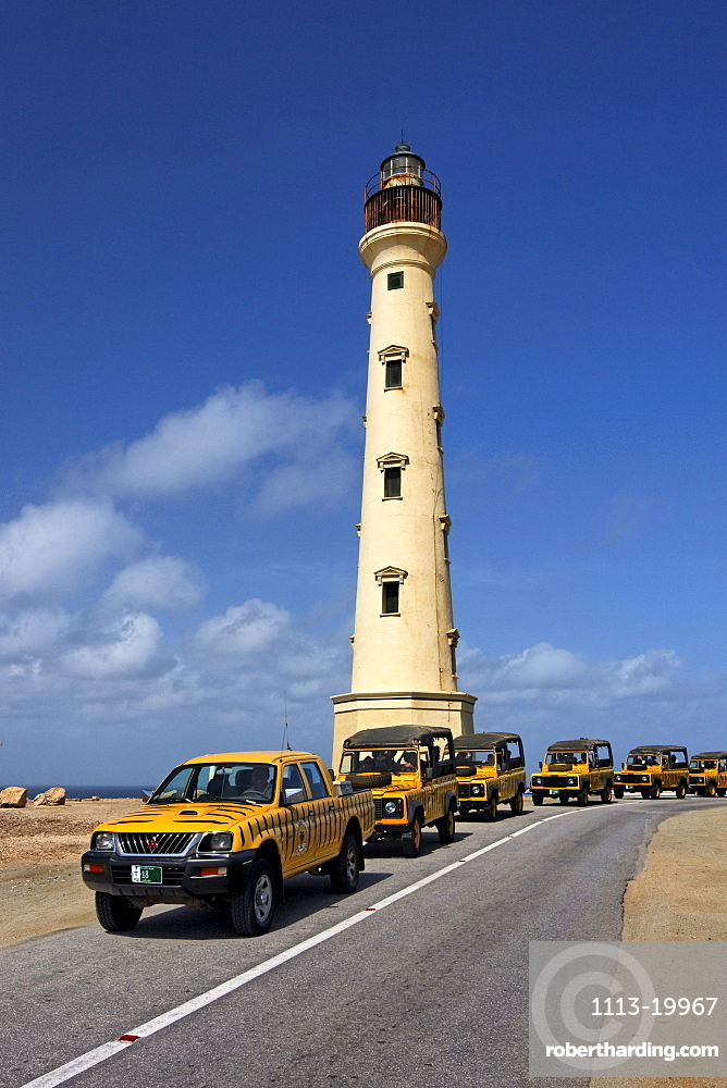 West Indies, Bonaire, West Indies, Aruba, California lighthouse, Jeep Adeventure Safari Tour