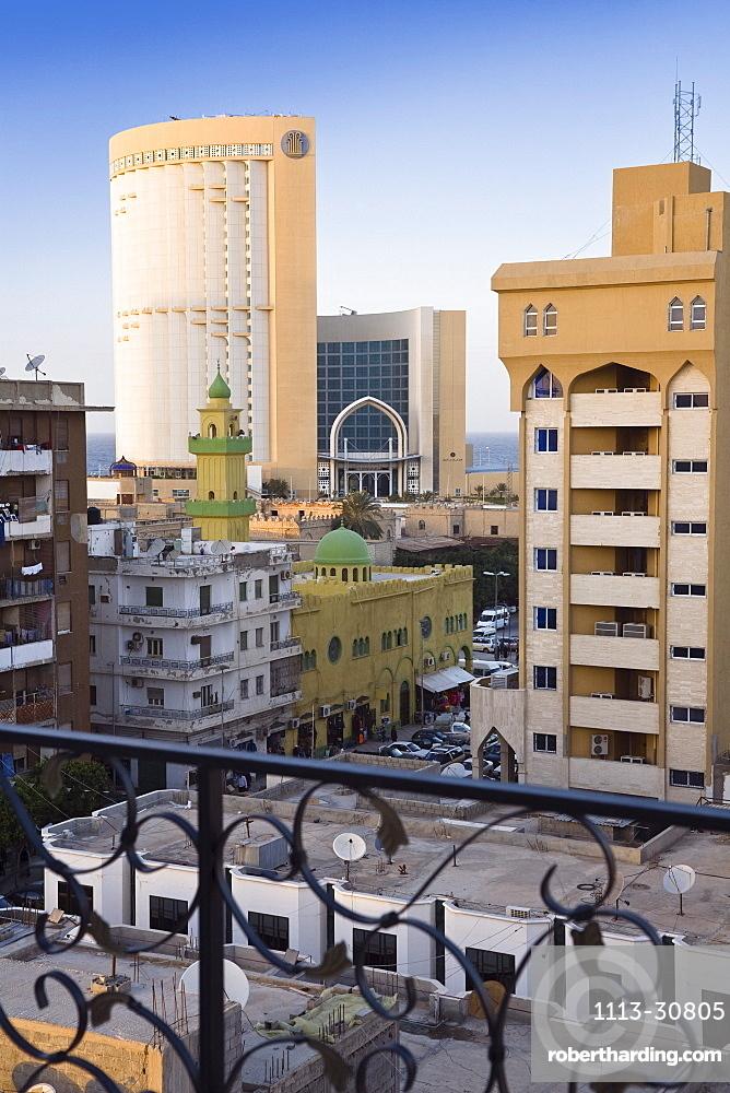 Corinthia Bab Hotel and Mosque, Tripoli, Libya, Africa