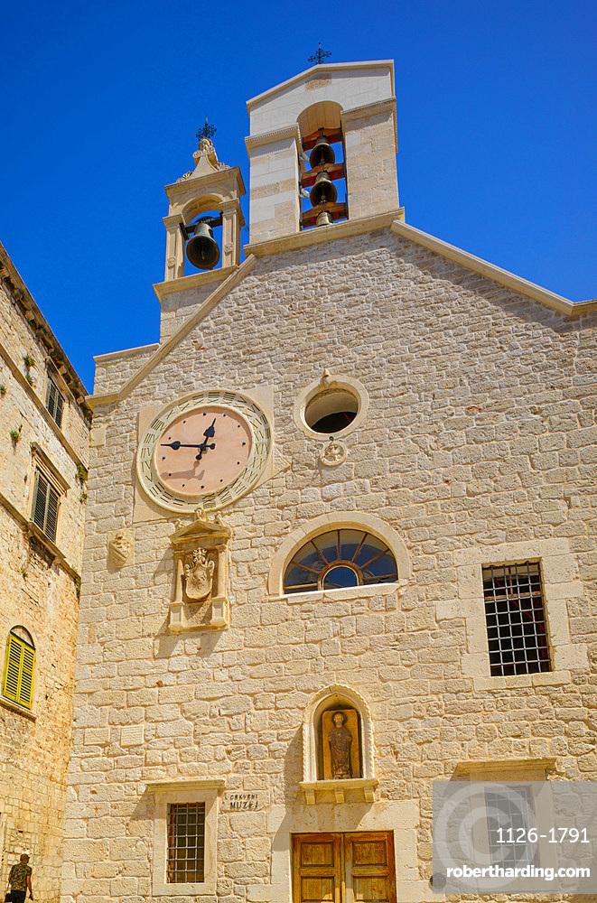 Church and Museum of St. Barbara, Sibenik, Croatia, Europe