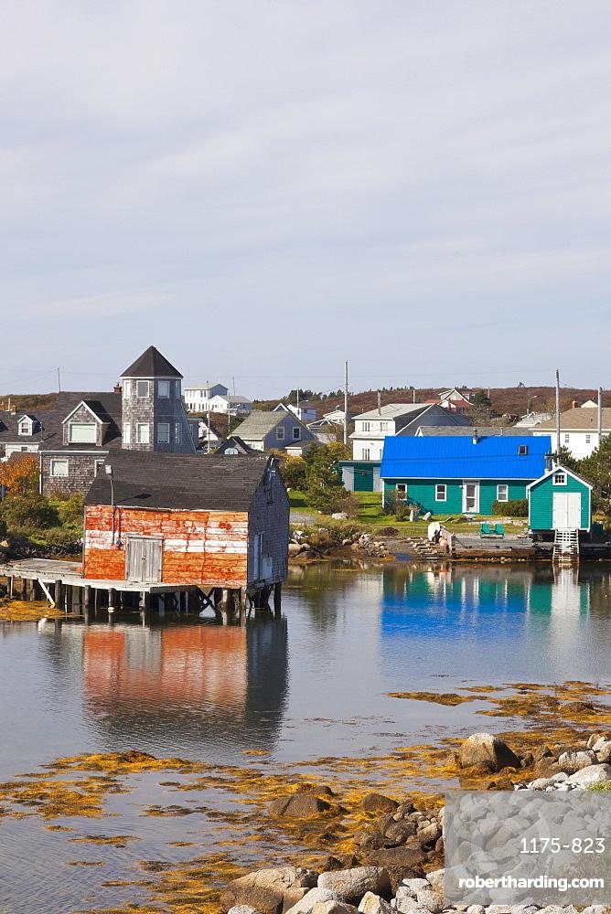 View of Village near Halifax, Nova Scotia, Canada