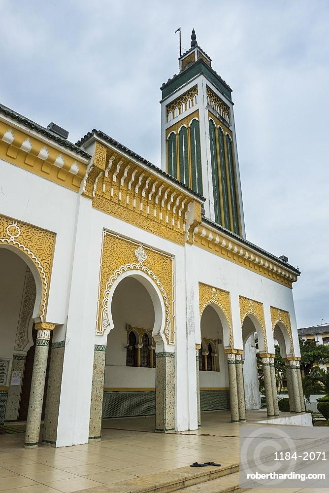 Hassane II Mosque, Libreville, Gabon, Africa