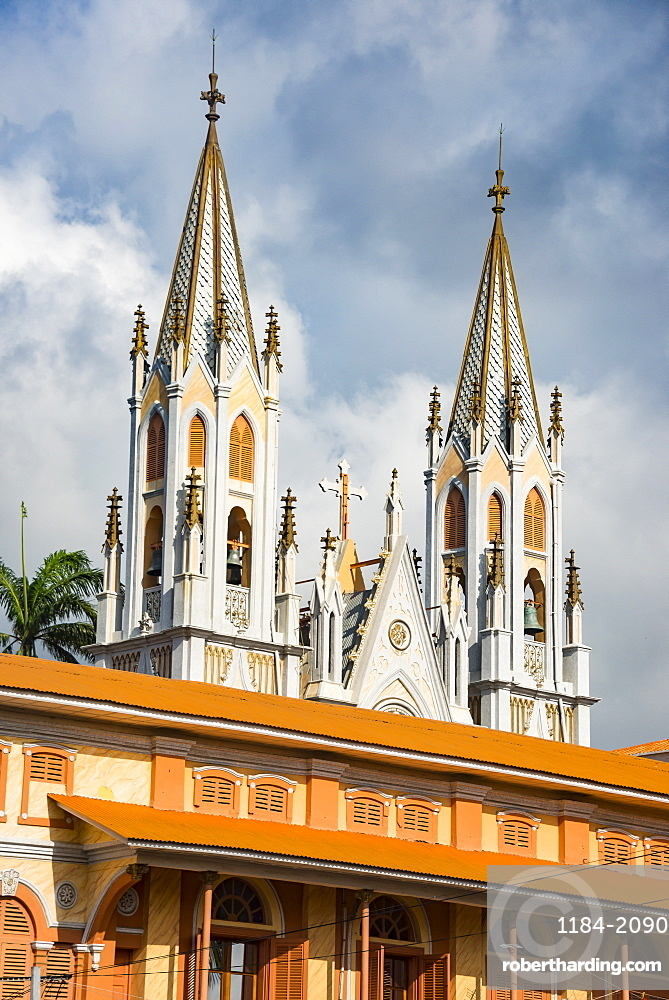 Cathedral of St. Isabel, Malabo, Bioko, Equatorial Guinea, Africa