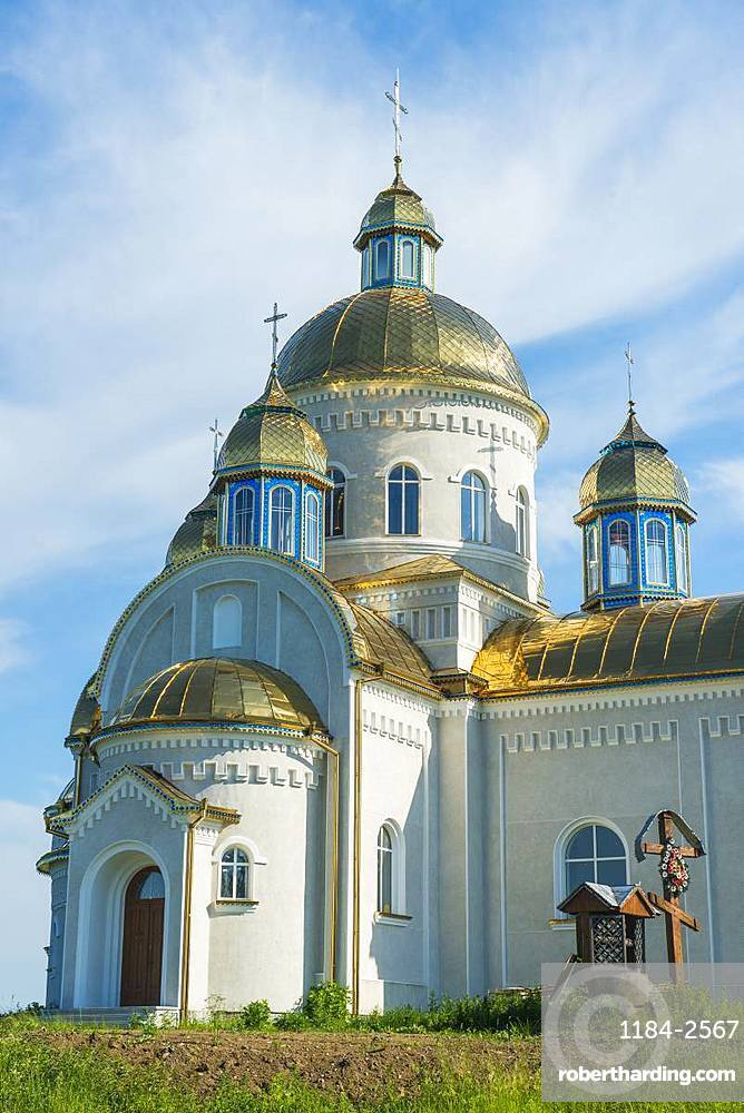 Orthodox Church, Nyzhniy Verbizh, Ukraine, Europe