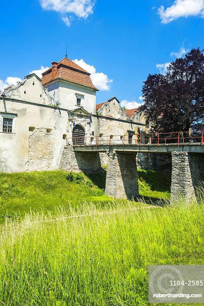 Svirzh Castle, Lviv Oblast, Ukraine, Europe