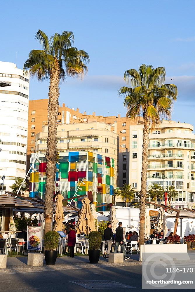 Centre Pompidou Museum, Malaga City, Costa Del Sol, Andalusia, Spain, Europe