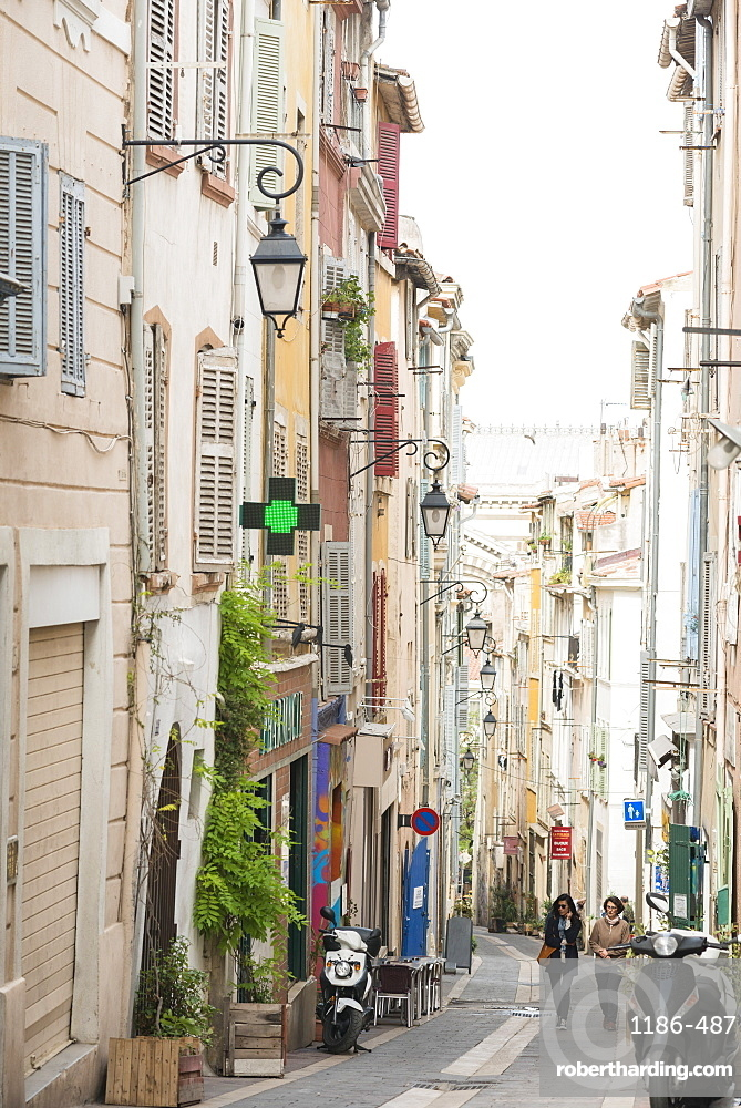 Streets of Marseille, Bouches du Rhone, France