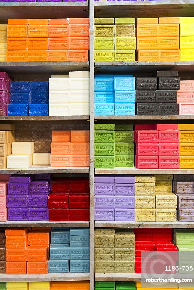 Colourful soaps Bouches du Rhone, Aix en Provence, France