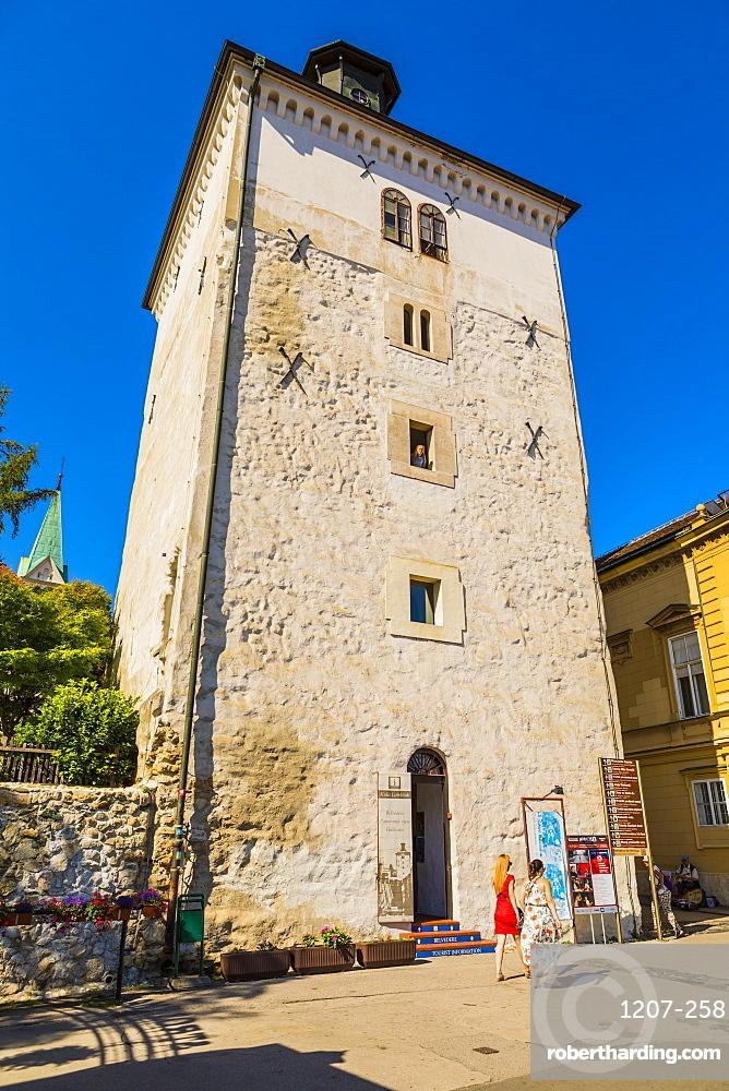 Lotrscak Tower, Zagreb, Croatia, Europe
