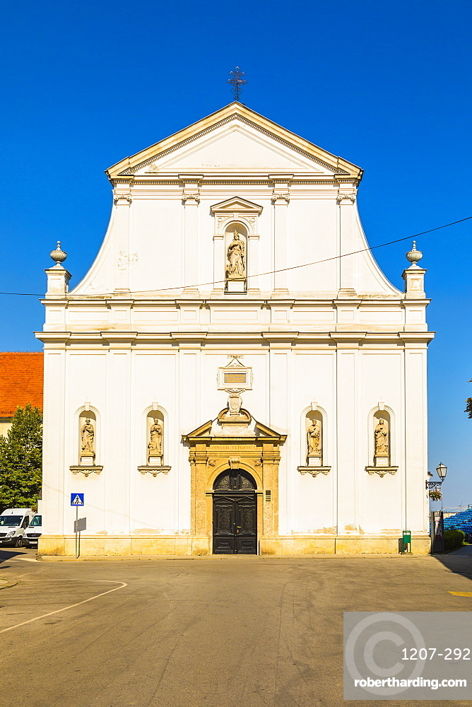 Saint Catherine of Alexandria church, Zagreb, Croatia, Europe