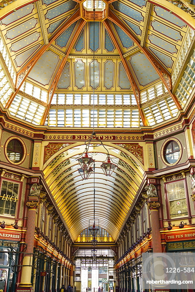 Leadenhall Market, City of London, London, England, United Kingdom, Europe