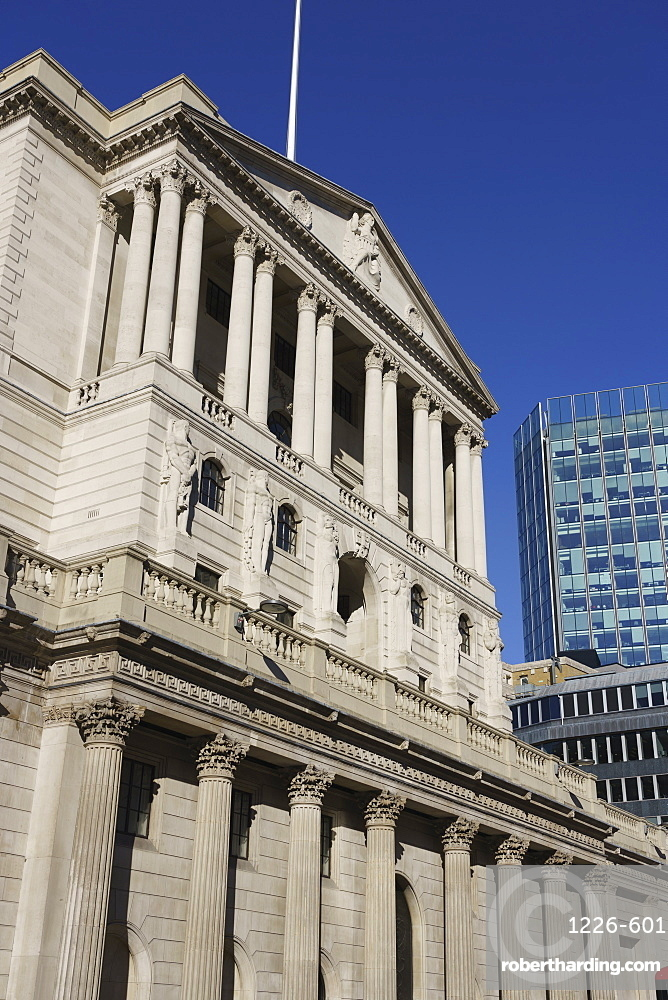 Bank of England, City of London, London, England, United Kingdom, Europe