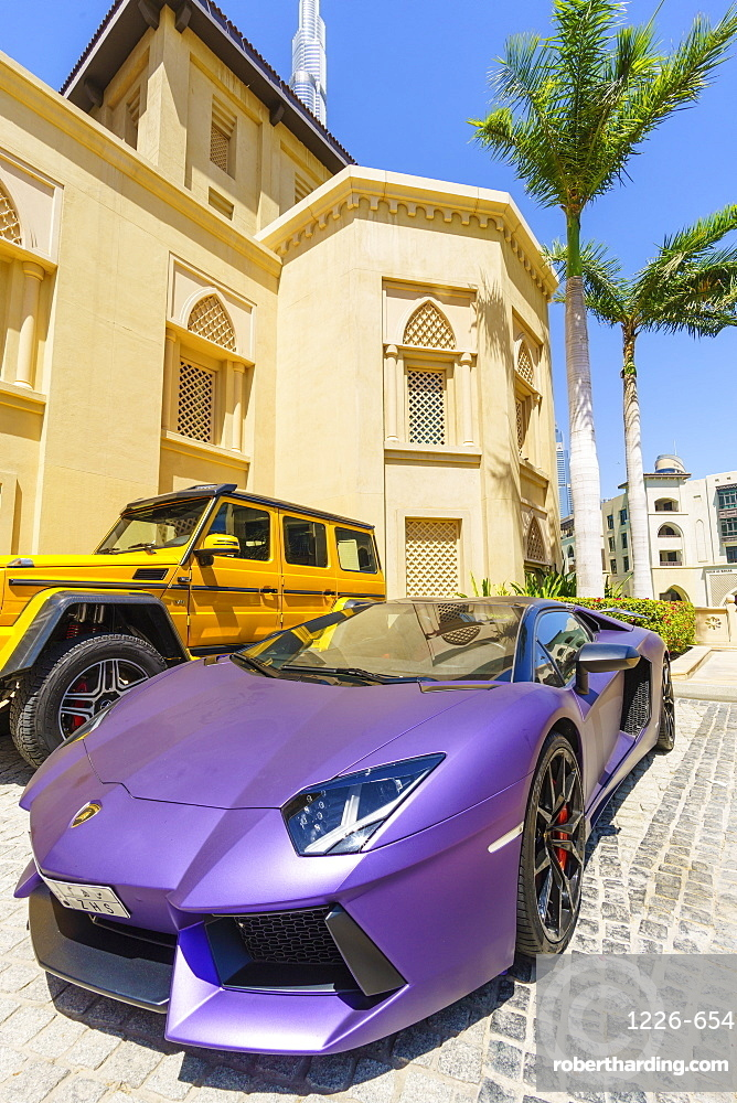 Exotic cars, Dubai, United Arab Emirates