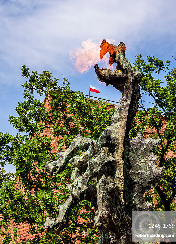 Dragon of Wawel Hill, Cracow, Lesser Poland Voivodeship, Poland