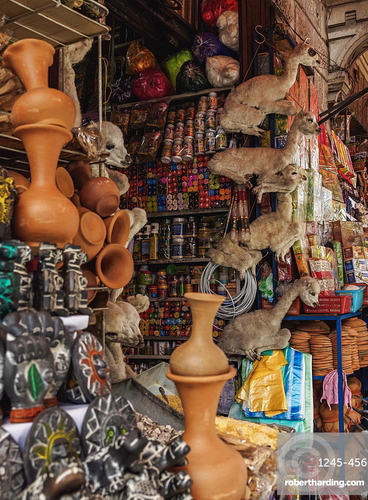 Witches Market, La Paz, Bolivia, South America
