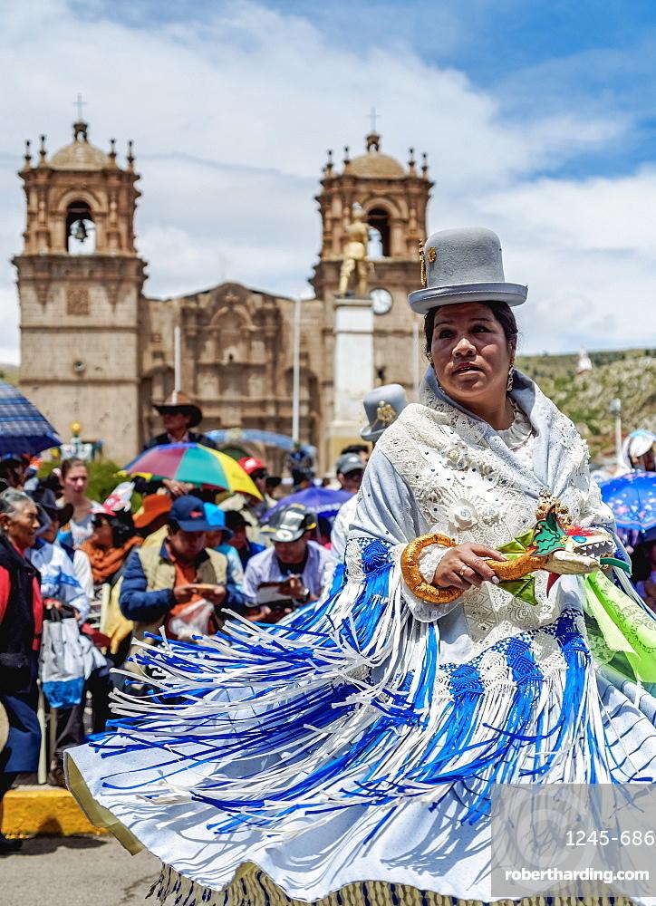 Fiesta de la Virgen de la Candelaria, Main Square, Puno, Peru
