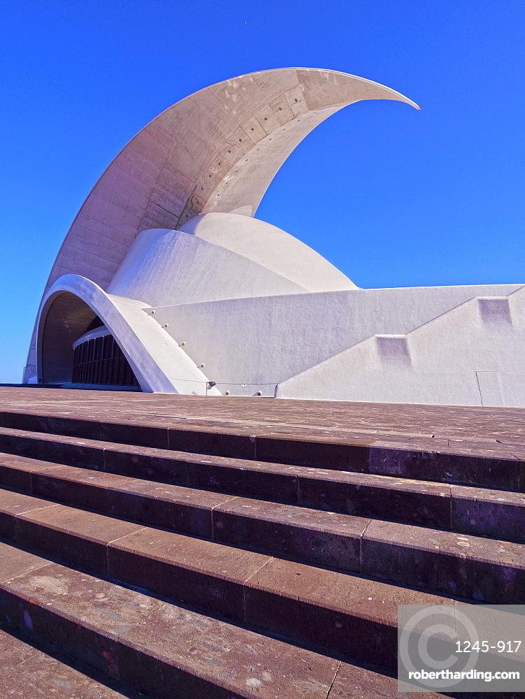 Auditorium Adan Martin, Santa Cruz de Tenerife, Tenerife Island, Canary Islands, Spain