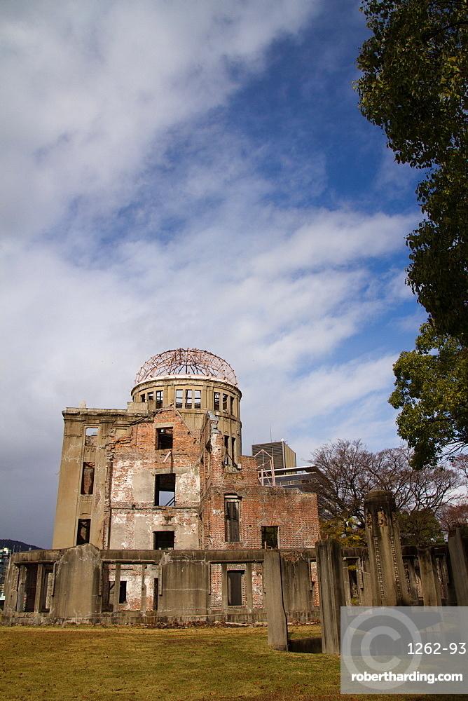 The A-Bomb Dome Memorial, UNESCO World Heritage Site, Hiroshima, Japan, Asia