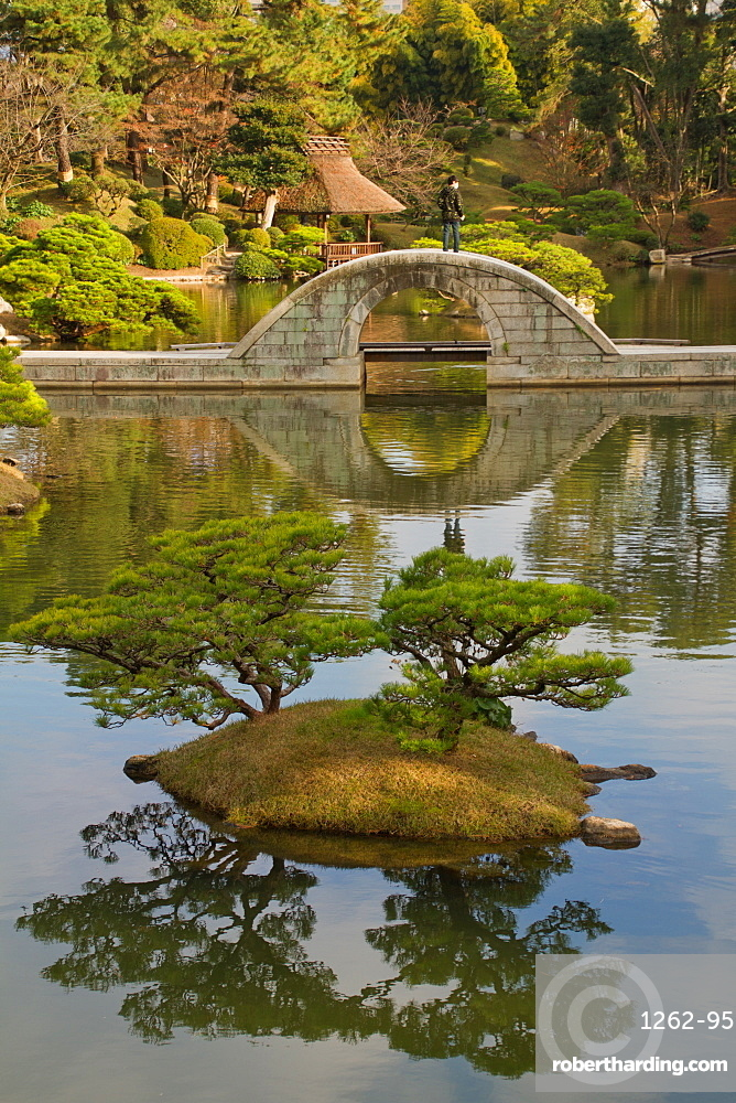 The Shukkei-en Gardens, Hiroshima, Japan, Asia