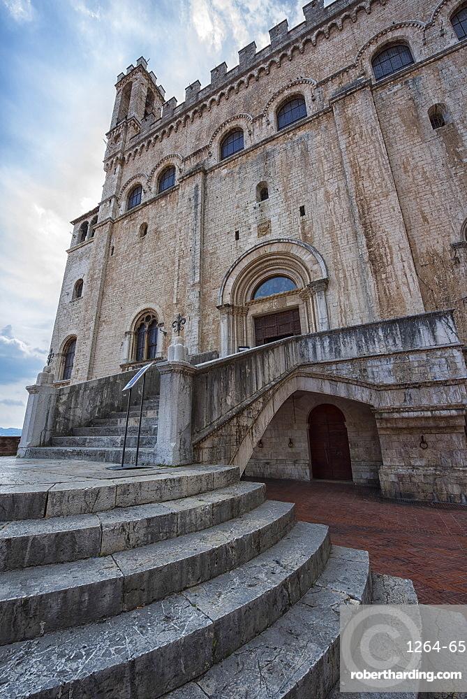 Consoli's Palace, Gubbio, Umbria, Italy, Europe