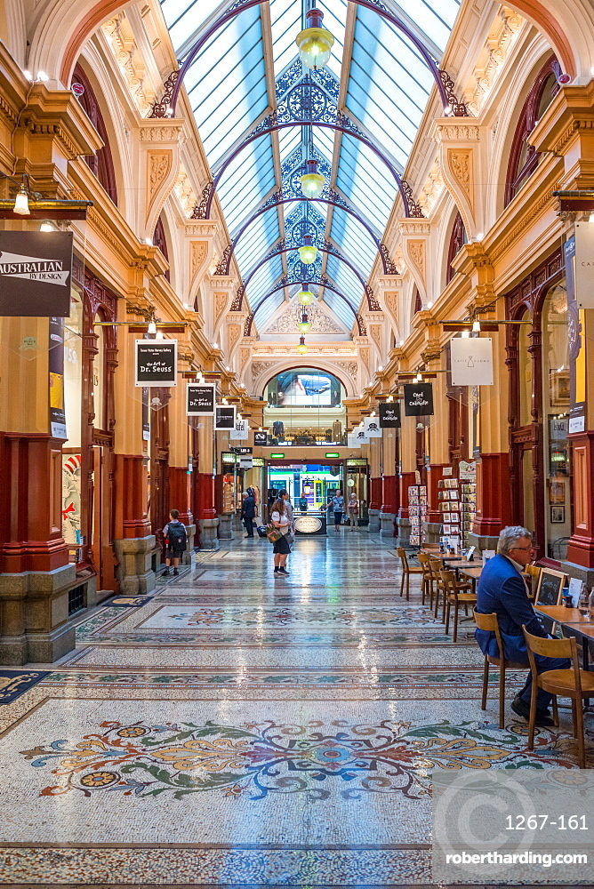 The Block Arcade, corner Collins Street and Elizabeth, Melbourne, Victoria, Australia, Pacific