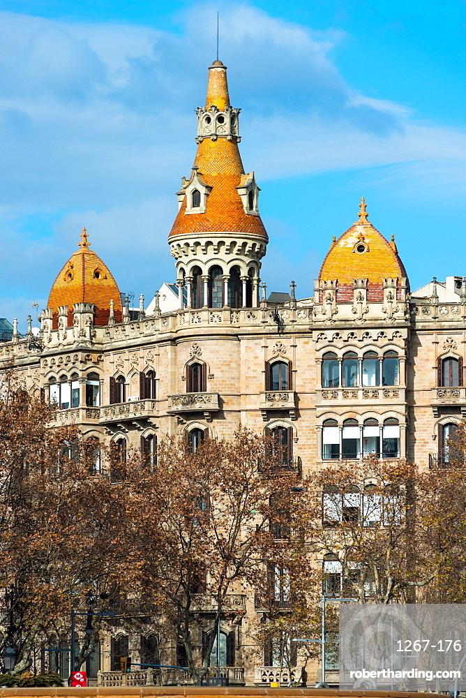 Casa Rocamora on Passeig de Gracia, Barcelona, Catalonia, Spain, Europe