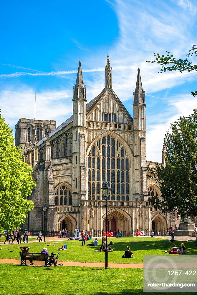 Winchester Cathedral, Winchester, Hampshire, England, UK