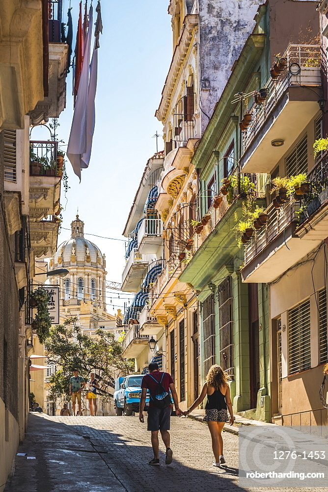 The Museum of the Revolution and La Habana Vieja, UNESCO, Old Havana, La Habana, Cuba, West Indies, Caribbean, Central America