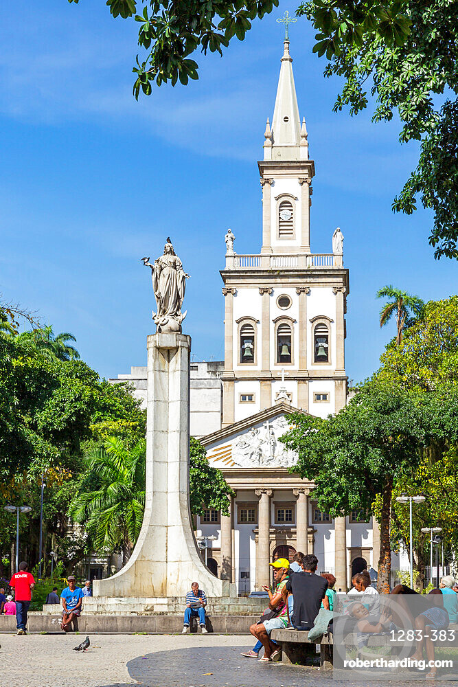 Church of Our Lady of Glory at Largo do Machado square in the Flamengo neighbourhood, Rio de Janeiro, Brazil, South America