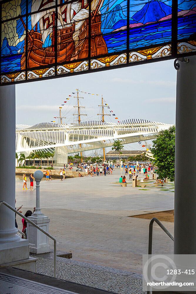 The Museum of Tomorrow at Maua Square, Rio de Janeiro, Brazil, South America