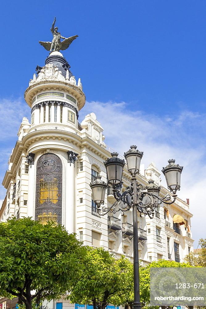 La Union Building at Tendillas Square, Cordoba, Andalusia, Spain, Europe
