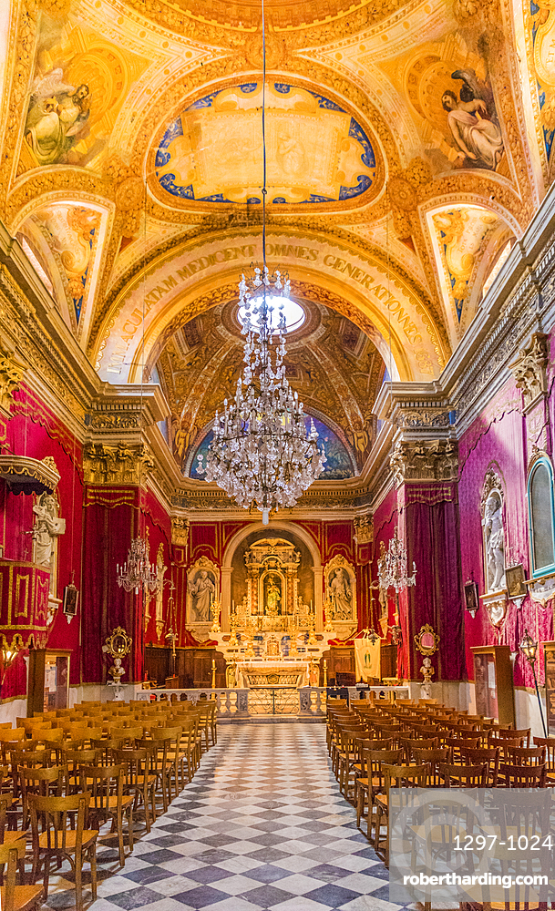 The Chapel of the Immaculate Conception, Menton, Alpes Maritime, Cote d'Azur, French Riviera, France, Mediterranean, Europe