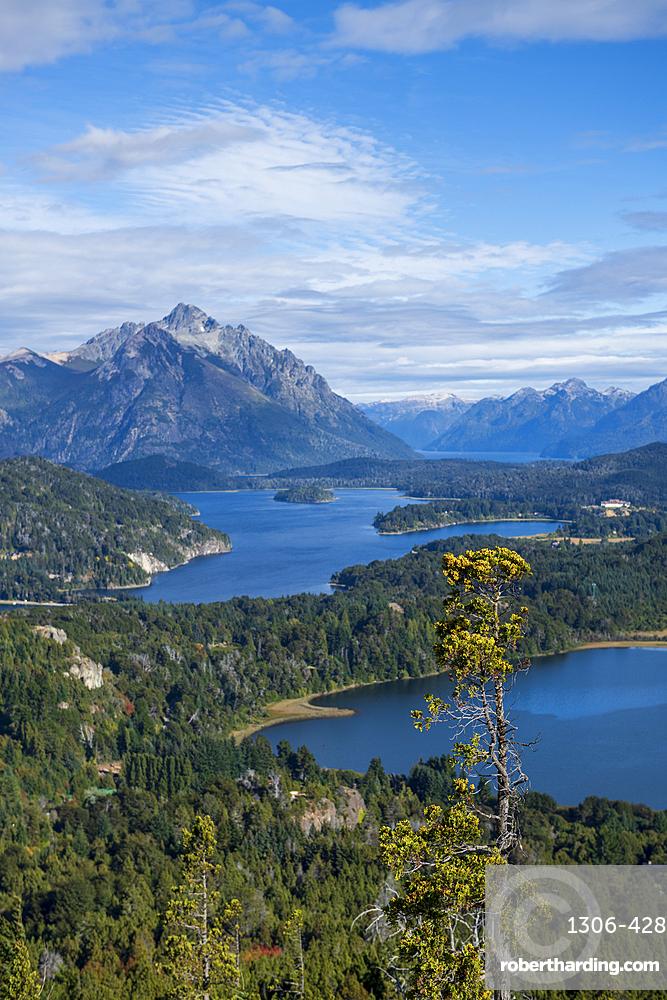 View of Cerro Campanario, Barilochie, Patagonia, Argentina