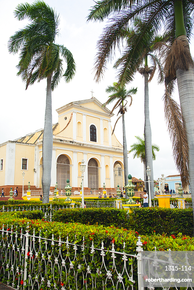 Church of the Holy Trinity in Trinidad, Cuba