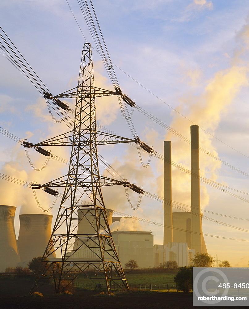 Ferrybridge Power Station, North Yorkshire, UK *** Local Caption ***