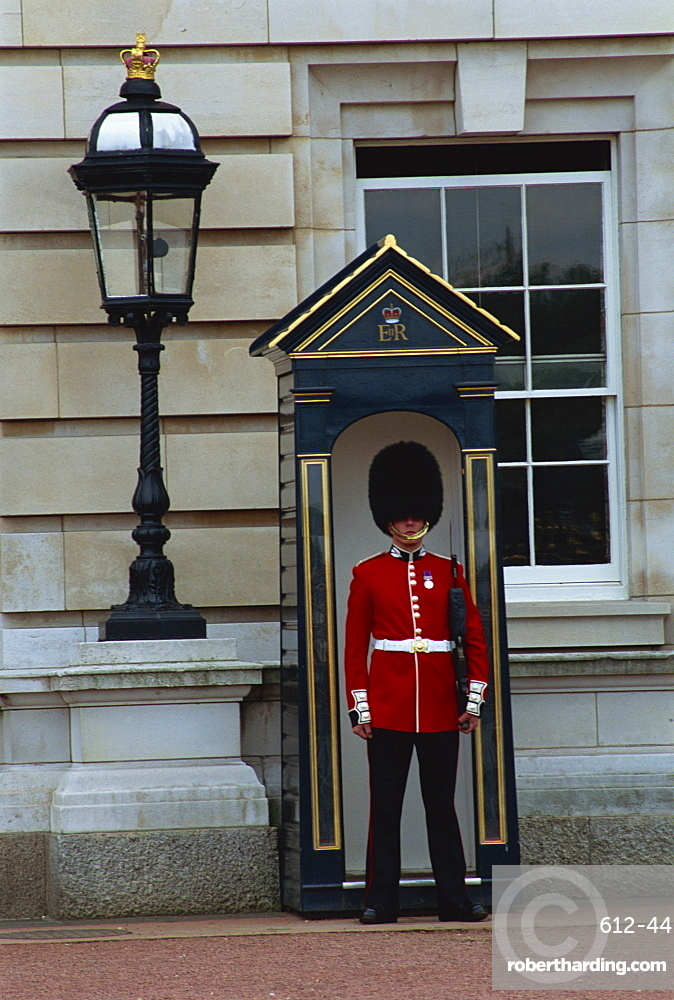 Portrait Of A Guard In Stock Photo