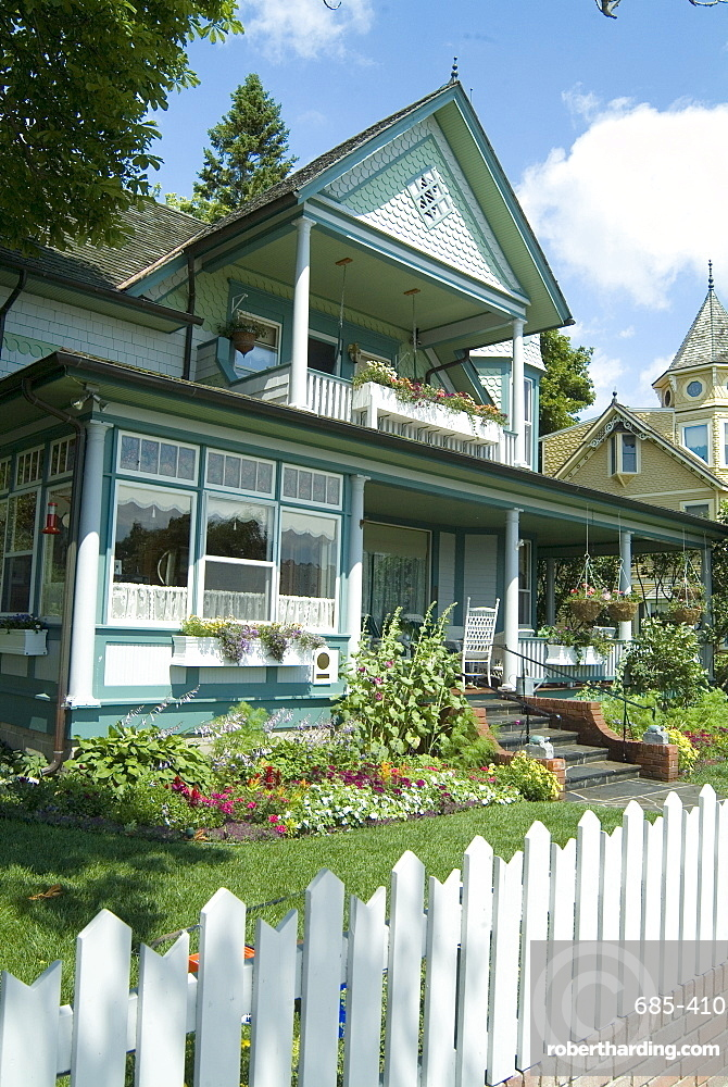 Historic District, Mackinac Island, Michigan, United States of America, North America
