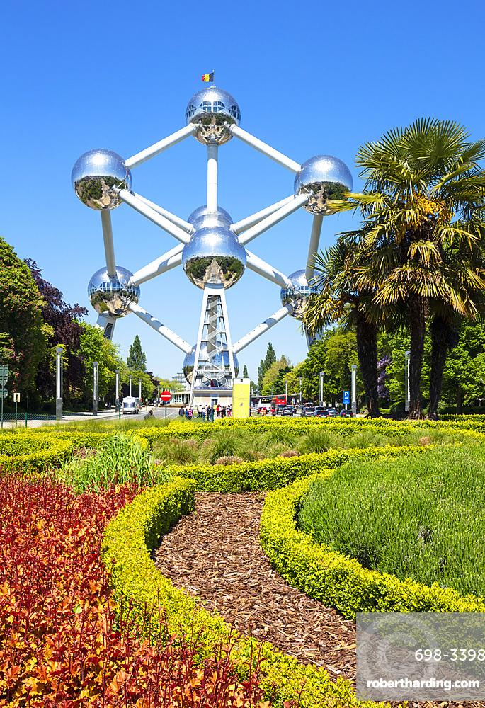 Brussels Atomium, Square de l'Atomium, Boulevard de Centaire, Brussels, Belgium, Europe