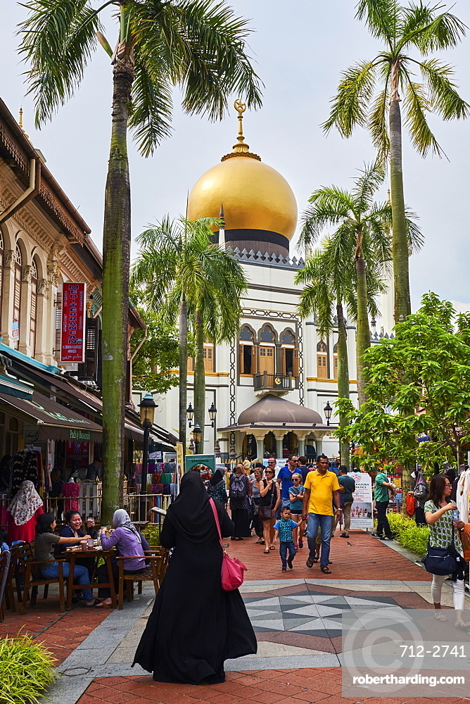 Sultan Mosque, Kampong Glam district, Singapore, Southeast Asia, Asia