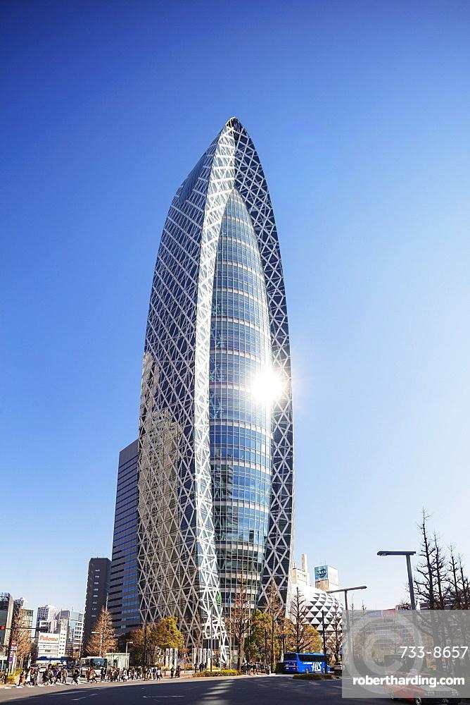 Mode Gakuen Cocoon tower, Fashion college building, Shinjuku, Tokyo, Japan, Asia